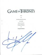 Jason Momoa Signed Autographed Game of Thrones Full Pilot Episode Script AB