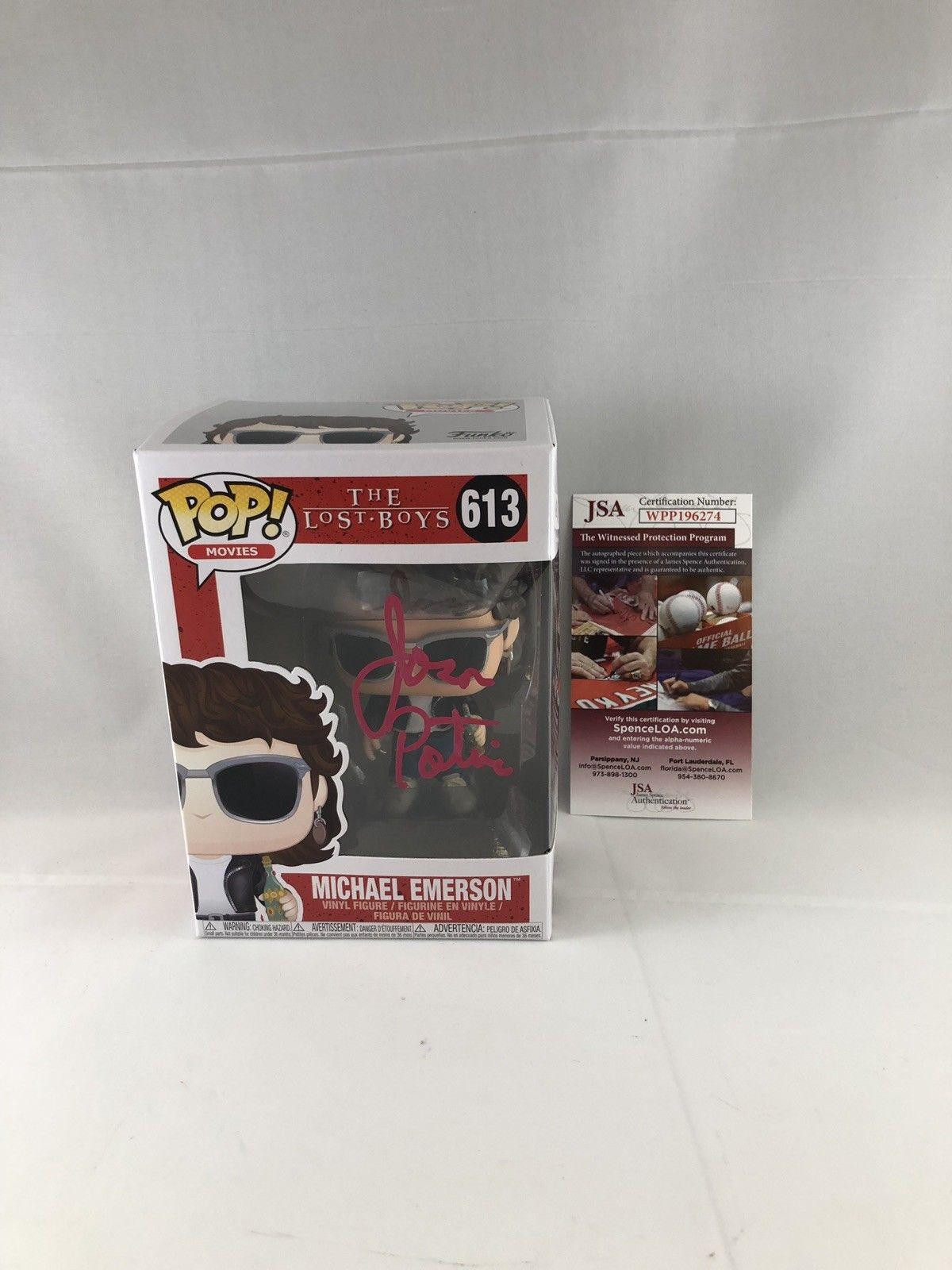de5f0179350 Jason Patric Signed The Lost Boys Michael Emerson Funko Pop Jsa 7
