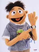 "Jason Segel Signed ""The Muppets"" RARE 8x10 Photo PSA/DNA"