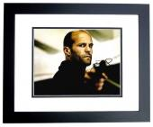 Jason Statham Signed - Autographed Furious 7 Fast and the Furious Action Actor 11x14 inch Photo BLACK CUSTOM FRAME - Guaranteed to pass PSA or JSA