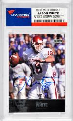 Jason White University of Oklahoma Sooners Autographed 2011 Upper Deck College Legends #7 Card