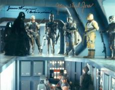 Jason Wingreen and James Earl Jones autographed 8x10 photo (Empire Strikes Back Boba Fett Voice Darth Vader Voice) Image #SC1980