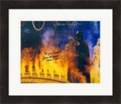 Jason Wingreen and James Earl Jones autographed 8x10 photo (Empire Strikes Back Boba Fett Voice Darth Vader Voice) #SC1981 Matted & Framed