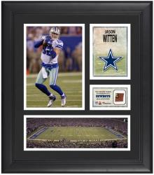 Jason Witten Dallas Cowboys Framed 15'' x 17'' Collage with Game-Used Football - Mounted Memories