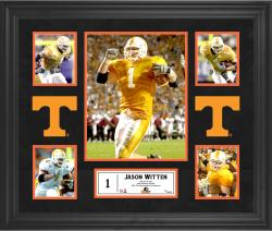 Jason Witten Tennessee Volunteers Framed 5-Photo Collage