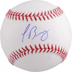 Javier Baez Chicago Cubs Autographed Baseball