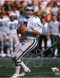 "Ron Jaworski Philadelphia Eagles Autographed 8"" x 10"" Vertical White Passing Photograph"