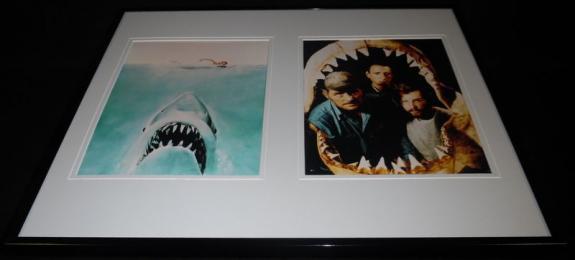 Jaws Framed 16x20 Photo Display Richard Dreyfuss