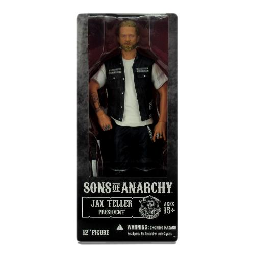 "Jax Teller Sons of Anarchy Officially Licensed 12"" Mezco Action Figure"