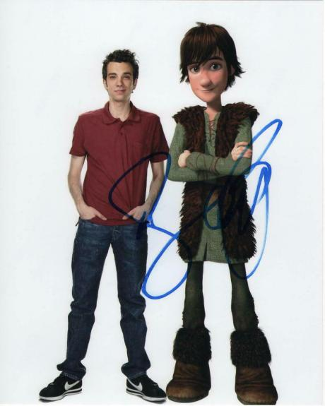 Jay Baruchel Signed Autographed 8x10 Photo - How To Train Your Dragon, Hiccup