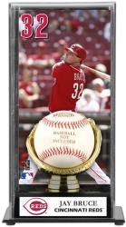 Joey Votto Cincinnati Reds Baseball Display Case with Gold Glove & Plate - Mounted Memories