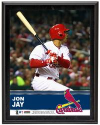 Jon Jay St. Louis Cardinals Sublimated 10.5'' x 13'' Plaque - Mounted Memories