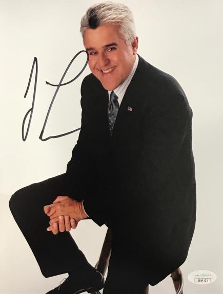 Jay Leno Autographed 8x10 Photo (JSA)
