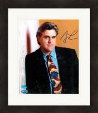 Jay Leno autographed 8x10 Photo (The Tonight Show) PSA Image #2 Matted & Framed