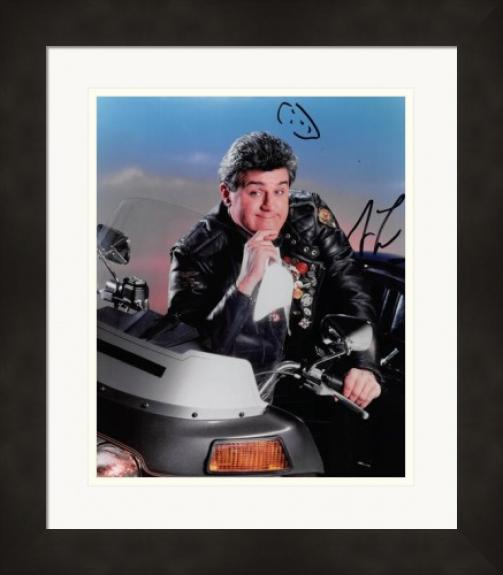 Jay Leno autographed 8x10 Photo (The Tonight Show) #SC2 Matted & Framed