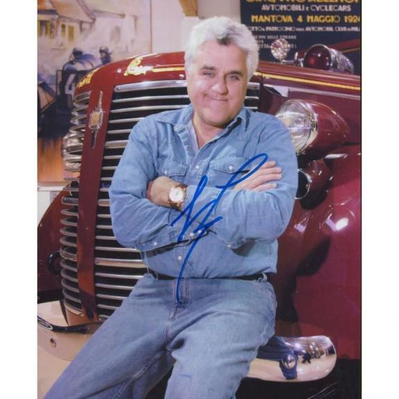 Jay Leno Autographed 8x10 Celebrity Photo