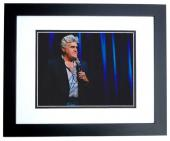 Jay Leno Signed - Autographed Comedian 8x10 inch Photo BLACK CUSTOM FRAME - Guaranteed to pass PSA or JSA