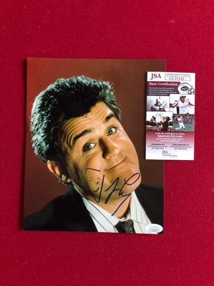 """Jay Leno """"Autographed"""" (JSA) 8"""" x 10"""" Photo (Vintage)"""