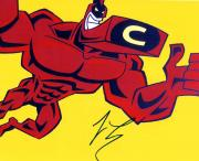 Jay Leno Autographed Signed Cartoon Photo The Tonight Show AFTAL