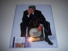 Jay Leno Famous Night Time Tv Host Td/holo Signed 11x14 Photo