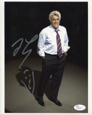 JAY LENO HAND SIGNED 8x10 COLOR PHOTO      GREAT POSE+SELF PORTRAIT        JSA