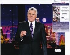 JAY LENO Hand Signed Auto TONIGHT SHOW TV 8x10 photo + JSA COA S43120 Comedian