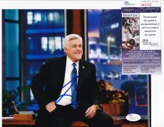JAY LENO Hand Signed Auto TONIGHT SHOW TV 8x10 photo + JSA COA S43121 Comedian