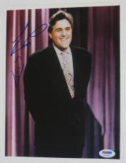 JAY LENO of The TONIGHT SHOW Signed 8x10 PHOTO w/ PSA DNA