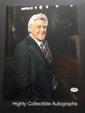 Jay Leno Signed 11x14 Photo Autograph Psa Dna Coa The Tonight Show