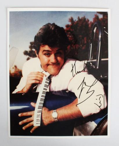 Jay Leno Signed 8×10 Photo – COA JSA