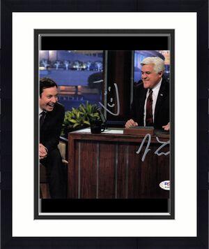 Jay Leno signed 8x10 photo PSA/DNA Autographed