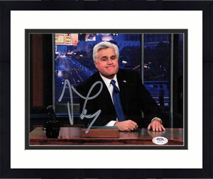 Jay Leno signed 8x10 photo PSA/DNA Autographed