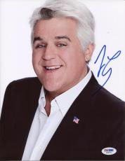 JAY LENO Signed 8x10 Tonight Show Photo PSA DNA X56751