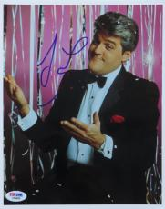Jay Leno Signed Authentic Autographed Tonight Show 8x10 Photo (PSA/DNA) #C54930