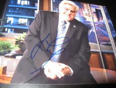 JAY LENO SIGNED AUTOGRAPH 8x10 PHOTO THE TONIGHT SHOW PROMO LATE NIGHT COA NY D