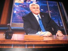 JAY LENO SIGNED AUTOGRAPH 8x10 PHOTO THE TONIGHT SHOW PROMO LATE NIGHT COA NY G
