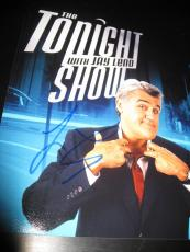 JAY LENO SIGNED AUTOGRAPH 8x10 PHOTO THE TONIGHT SHOW PROMO LATE NIGHT COA NY I