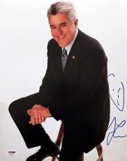 JAY LENO SIGNED AUTOGRAPHED 11x14 PHOTO + SKETCH THE TONIGHT SHOW PSA/DNA