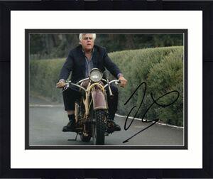 Jay Leno Signed Autographed 8x10 Photo - Tonight Show Host, Garage, Car Legend 3