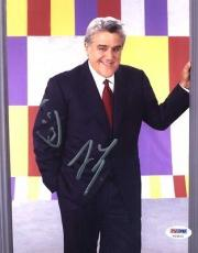 Jay Leno Signed Autographed 8x10 Photo w/ Chin Sketch PSA/DNA Authentic