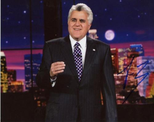 Jay Leno Signed Autographed Great Photo 8x10 Photo W/coa