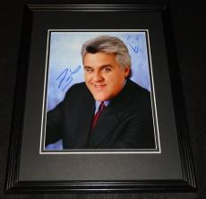 Jay Leno Signed Framed 8x10 Photo w/ Sketch The Tonight Show