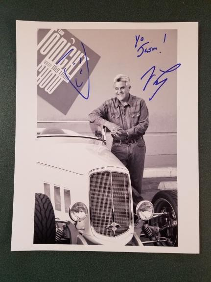 Jay Leno-signed photo-69 - JSA COA