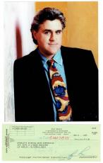 Jay Leno Signed Tonight Show Authentic Autographed Check w/ Photo PSA/DNA