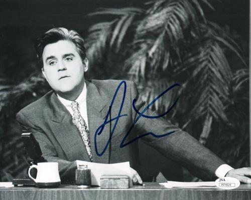 Jay Leno Talk Show Host Comedian Signed 8x10 Photo w/JSA COA