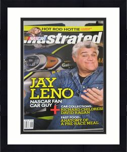 Jay Leno The Tonight Show Host Signed Nascar Illustrated Magazine Autographed