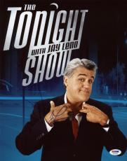 Jay Leno The Tonight Show Signed 11X14 Photo PSA/DNA #T76092