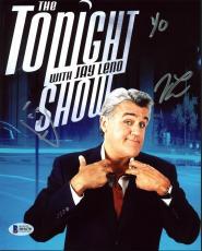 Jay Leno The Tonight Show Signed 8X10 Photo Autographed BAS #B91670