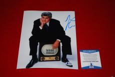 JAY LENO the tonight show signed beckett 8x10 photo BAS 1