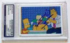 Jay Leno The Tonight SHow The Simpsons Signed Auto 2x3 Photo PSA/DNA Slabbed #2